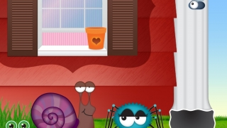 The main characters are the Itsy Bitsy Spider and Chloe the Fly.