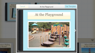 Templates are available and easy to customize with kid's image and name.