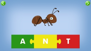 Kids play with letters and sounds to make words.