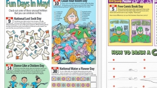 The Kids Scoop News magazine -- available both digitally and in print -- is a standout. Both versions are currently free.
