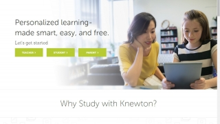 Use Knewton as a teacher, parent, or student.