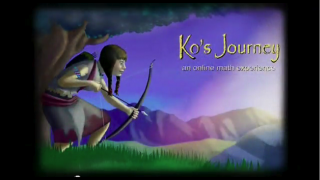 Guide Ko on her quest and solve math problems along the way.