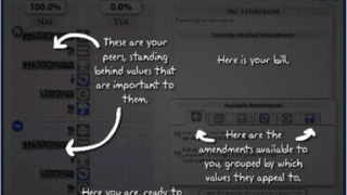 Supports are text-based and help with navigating the game's dashboard.