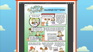 The Mateo y Cientina comics go into more depth and pull family members into their kids' education.