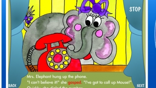 An animated book about the silly things that happen when animals play Telephone.