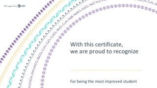 Positively acknowledge students in your class with certificates provided by LearnStorm.