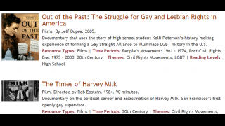 Films examine the fight for LGBTQ rights in America.