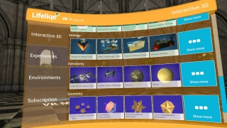 A sample of geology, astronomy, and geometry models