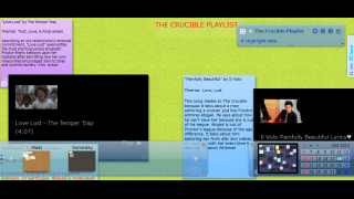 A classroom's playlist based on the play The Crucible shows how Lino can really work in a classroom setting.