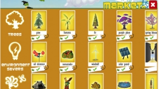 The more you play, the more cool rewards -- such as new trees -- can be unlocked.