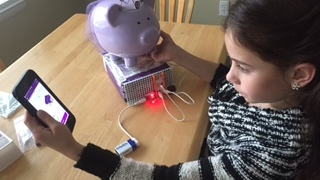 Kids can construct a Burglar Buzzer to keep their piggy bank safe.