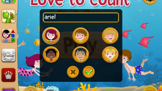 Enter each player's name and choose an avatar.