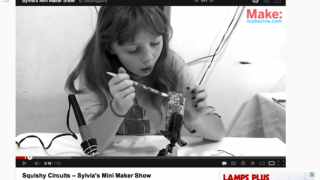 """Sylvia's Mini Maker Show,"" produced on Youtube.com, features a great role model for kids who tinker."