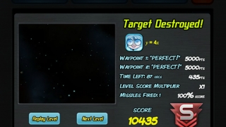 Players earn points for hitting target items.