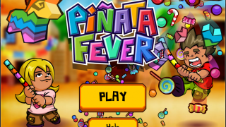 Swing at piñatas for candy and other virtual prizes.