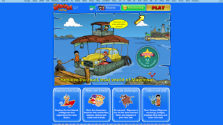 Mapoosa is an online simulation chock-full of games to play.