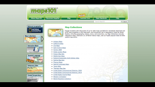 Map collections include antique maps, maps in Spanish, regional and other maps.
