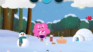 A cold winter day is one of the many weather conditions that kids can explore.