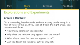The parent section has great ideas for extension activities that can be used in the classroom.