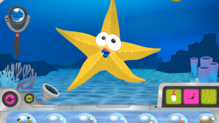 Creature builder lets kids create their own unique sea animals.
