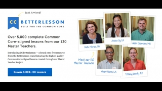 Over 130 expert classroom teachers help create exemplary Common Core-aligned lessons.
