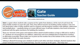 The Teacher Guide has excellent suggestions for classroom use.