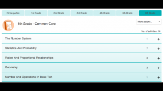 It's easy to search for activities by Common Core standard.