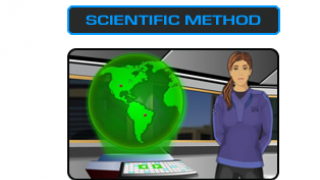 Students learn about the scientific method.