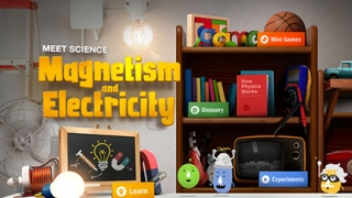 Kids learn important concepts about magnetism and electricity as they experiment, build vocabulary, and play games.
