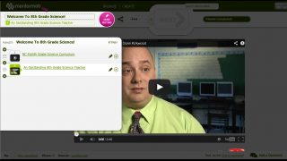 Playlists are linear collections of videos, documents, and assessments.