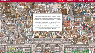 MetKids offers a kids's-eye view of the Metropolitan Museum of Art.