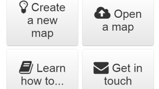 Users can select among these options on the site's front page and get to work.