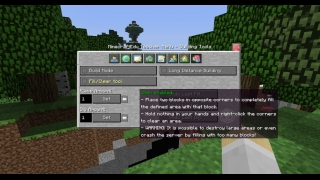 In-game build tools for teachers let you dig and fill blocks quickly.