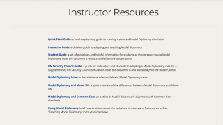 Handy getting-started materials help teachers understand the program.