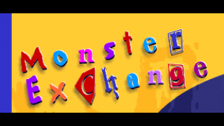 Kids will love the drawing part of Monster Exchange.