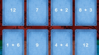 Kids tap to match tiles with equal values.