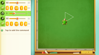 Kids practice coding, recognizing shapes, graphing, and more.