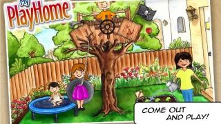 Grow carrots in the garden and jump on the trampoline.