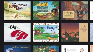 Fully illustrated storybooks include listen and read on my own options