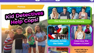 MyON News features daily news articles and activities from kids' news provider News-O-Matic.