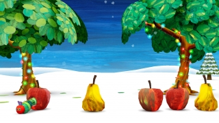 Jump into the stunning graphics: drag fruit to feed the hungry caterpillar and watch his food meter fill up as he eats.