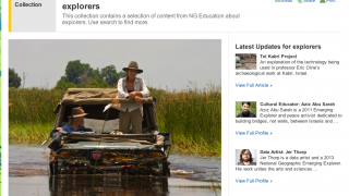 Interested in explorers? Find out more about them and the things they've discovered.