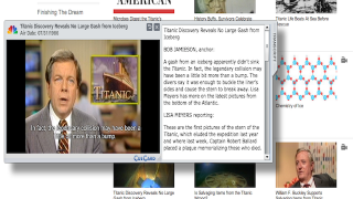 Teachers can save videos to playlists, with notes, for future use.