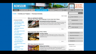 Users can view items from museum exhibits.