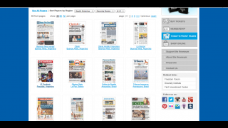 Kids can view front pages from more than 800 newspapers around the world.