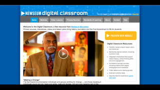 The Digital Classroom section provides additional learning modules and videos.