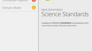 Browse Next Generation Science Standards by several categories.
