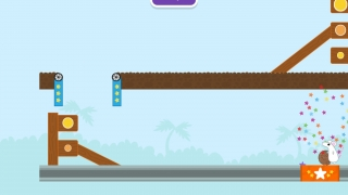 Levels become more challenging as students play. Nico will give simple hints, but the levels themselves aren't adaptive.
