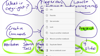 Use the draw feature to get a handwriting experience, and easily customize notes as needed.