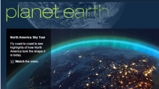 NOVA: Planet Earth allows us to explore the planet through pictures, video, and other multimedia tools.